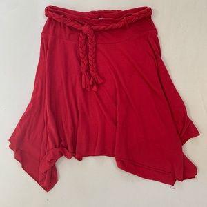 Xhilaration Red Skirt